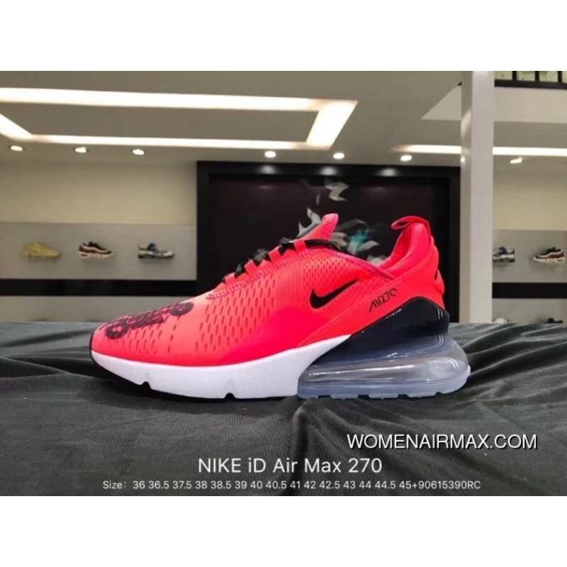 e1c595105640 Nike Air Max 270 Series ID Heel Half-palm As Jogging ShoesMoves You ...