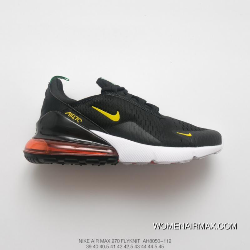 4c13ce812989c0 World Cup Theme The FIFA World Cup Men Shoes Nike Air Max 270 Series Heel  Half-palm As Jogging Shoes Brazil Black Green Yellow Blue SKU AH8050-112  Discount
