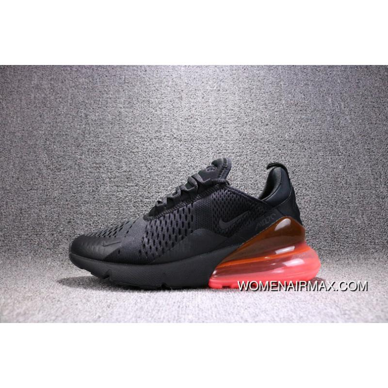 d8f4cdab7 USD $80.09 $208.23. Nike Air Max 270 Black And Red AH8050-010 270  Breathable Running Shoes ...