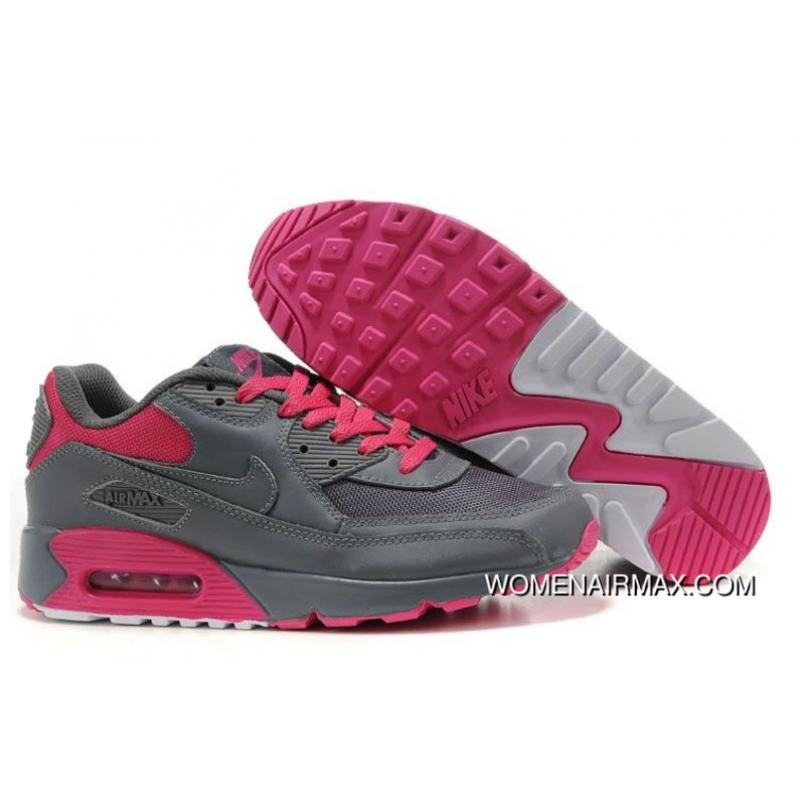 new concept f02e3 86215 Womens Nike Air Max 90 Shoes Dark Grey Pink,nike Free Run Womens,nike  Running Shoes Clearance,Buy Online Top Deals