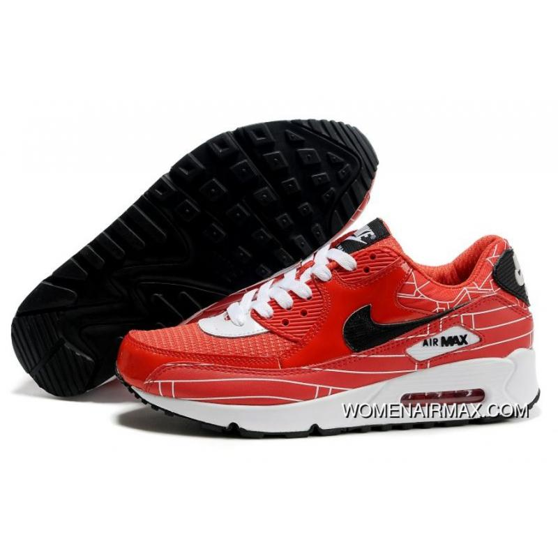 wholesale dealer d9c38 17db7 USD  77.93  257.18. Womens Nike Air Max 90 Shoes Red White ...