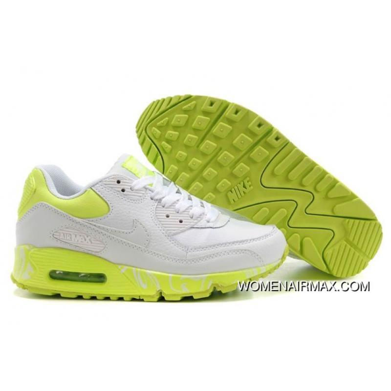 reputable site 70880 653a6 USD $77.11 $269.88. Womens Nike Air Max 90 Shoes White Light Green ...