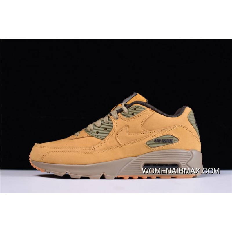 new arrival 0d537 8c065 USD  87.42  218.56. Pure Hyx63108 Nike Air Max 90 Premium Zoom Retro  Jogging ShoesWinter Flax Wheat ...