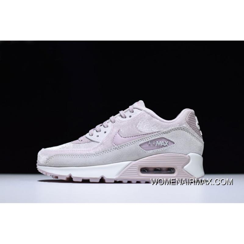 new arrival 06bb0 247b7 Wmns Nike Air Max 90 Lx Particle Rose/Vast Grey/Summit White 898512-600  Discount
