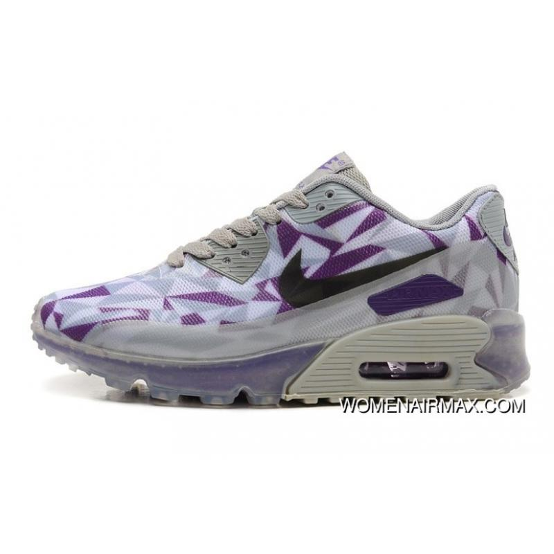wholesale dealer 55328 38dbe Best Regression Texture Nike Air Max 90 Ice Purple USA