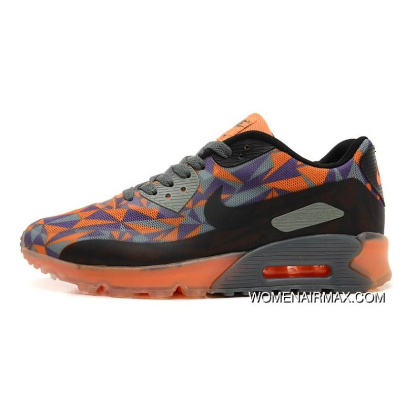 finest selection bb98a ddeb3 For Sale Regression Texture Nike Air Max 90 Orange Ice