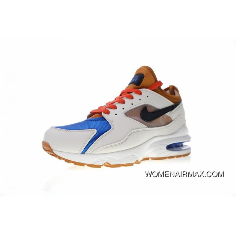 Men Shoes Nike Air Max 93 OG Retro Zoom Short Sleeve Feet Jogging ... 8aaaefd5b9
