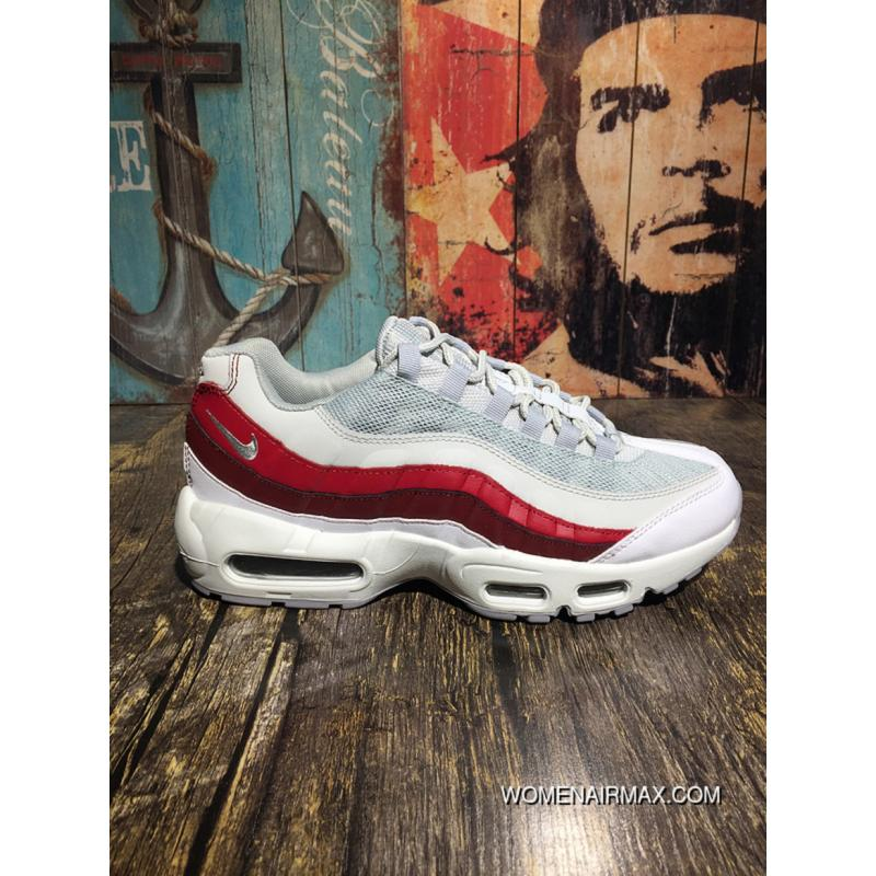 95a35fce36b02a Nike Air Max 95 University Of Red White 749766-601 95 Signature ...