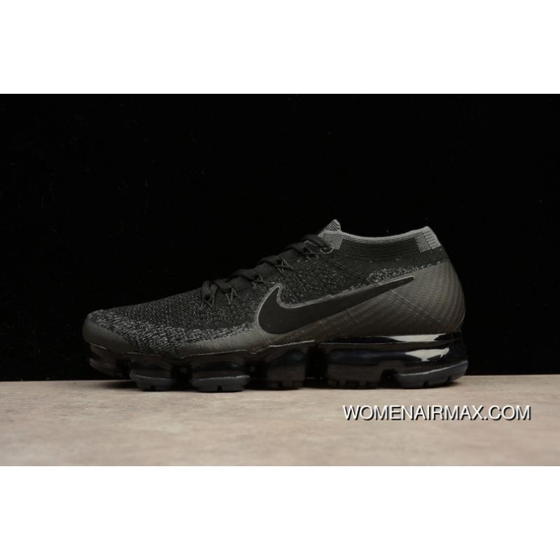 new product 14502 a78b7 2018 SG Version Nike VAPORMAX FLYKNIT Zoom Air Men Running Shoes 849558-007  For Sale