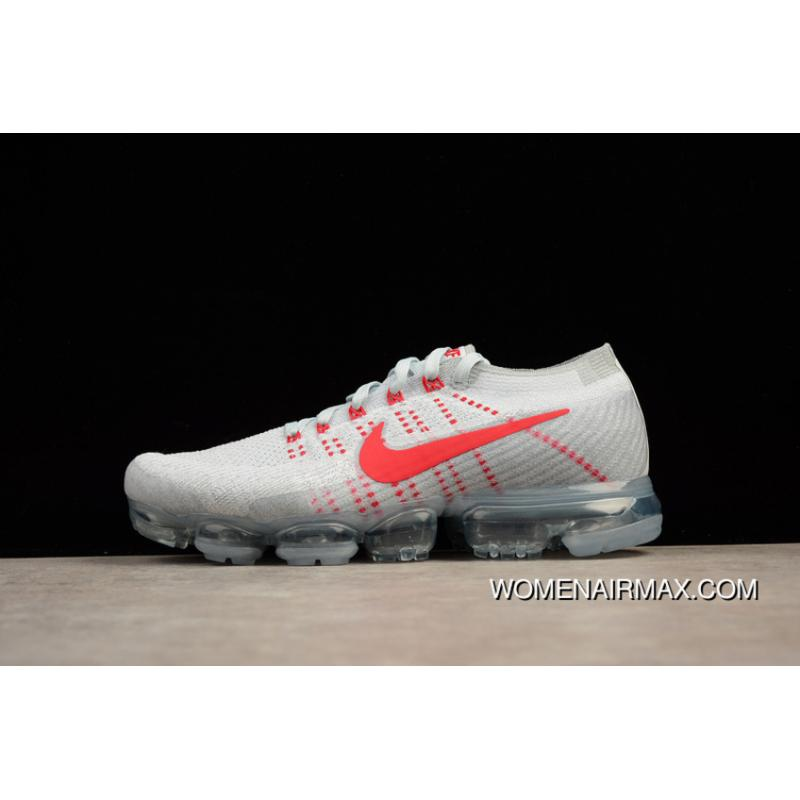 ... 2018 SG Version Nike Air VaporMax Flyknit Zoom Air White Red SG Version  Men Shoes 849558 ... fbe28428ec