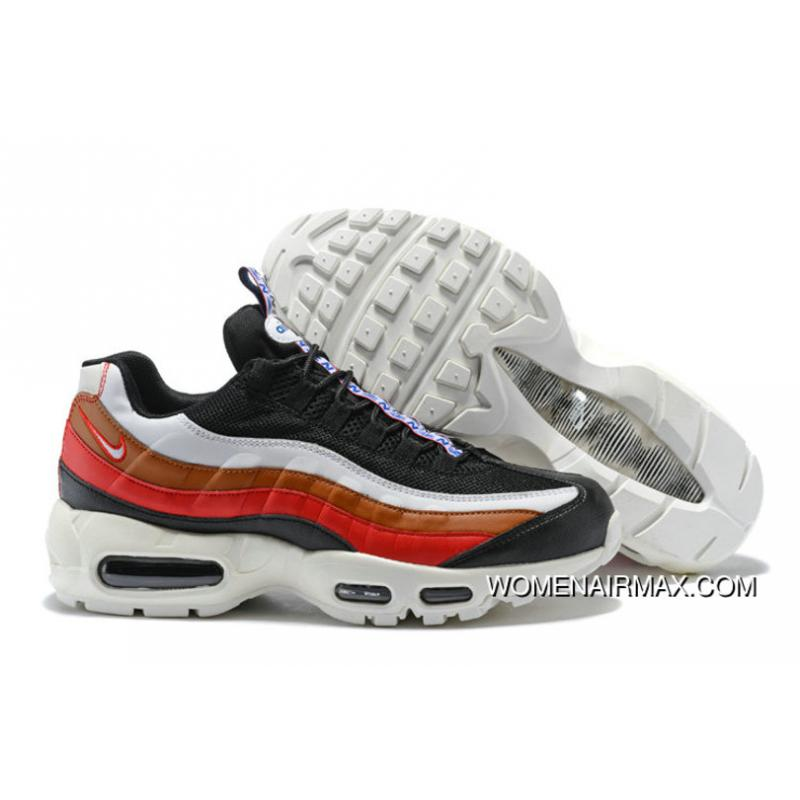 0d84427aa09a3 ... low price 2018 nike air max 95 pull tab pack black red white gold new  year