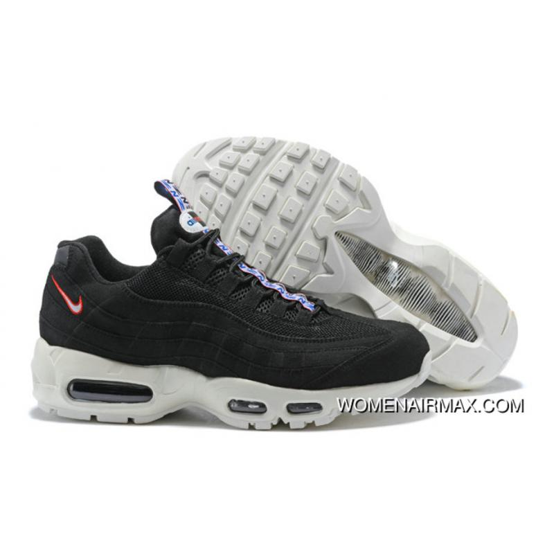 super popular 85666 5b20a 2018 Nike Air Max 95 Pull Tab Pack Black White New Year Deals