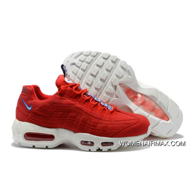 online store 0e15b f186b 2018 Nike Air Max 95 Pull Tab Pack Red White Free Shipping