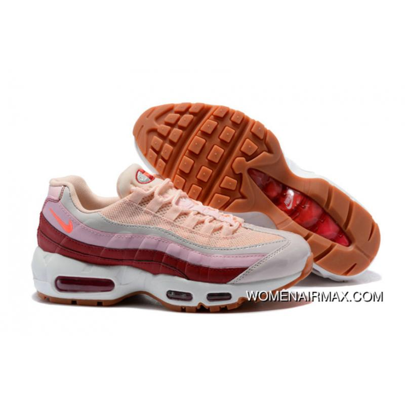 ba81e1b49a USD $90.24 $261.69. 2018 Nike Lab Air Max X Womens Nike Air Max 95 Pink  Wine Red ...