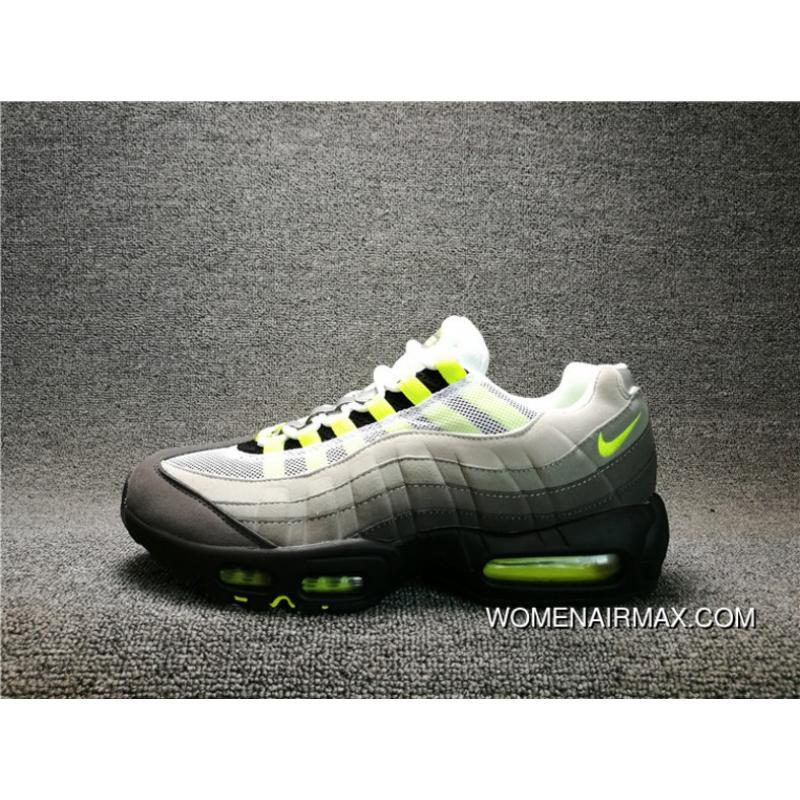 meilleures baskets d87e9 c6ea9 2016 High Quality NIKE AIR MAX 95 OG Mesh Zoom Running Shoes 554970-071 Men  Shoes New Style