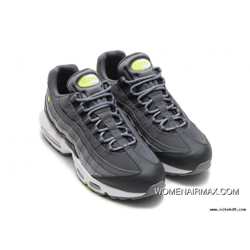 Air Max 95 Essential Black White dark Grey