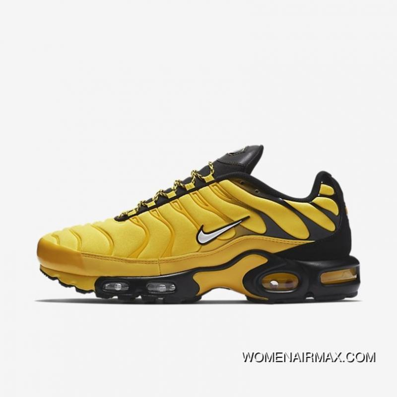 new product f840e cff74 Nike Air Max Plus TN AIR MAX 95 Frequency Pack Men Running Shoes Limited  AV7940 700 Men Yellow Black New Release
