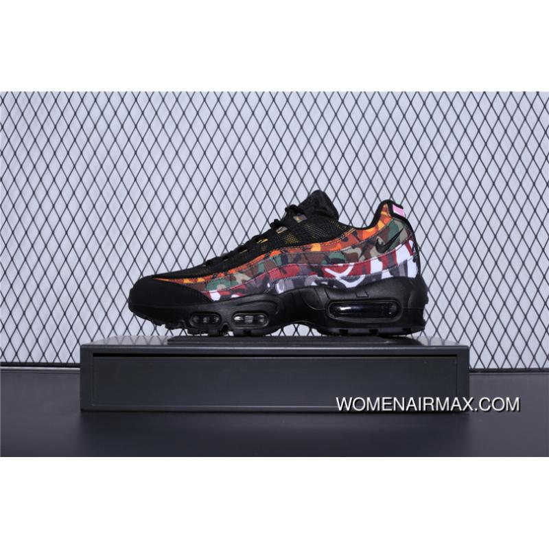 purchase cheap fb1b4 566fb New Year Deals AR4473-001 Nike Air Max 95 Erdl Party Camo Black Retro Zoom  Cushioning Running Shoes Women Shoes And Men Shoes
