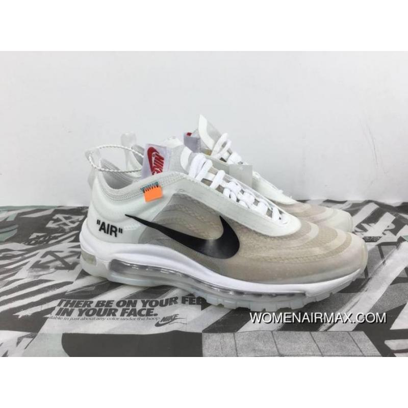buy popular f19d0 6c42a Nike OFF WHITE Air Max 97 The Ten Discount