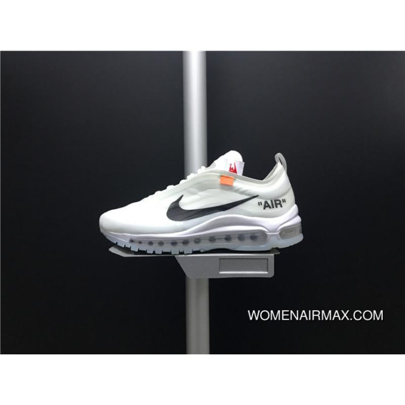 the latest 000f8 99e40 AJ4585-100 OFF-WHITE X Nike Air Max 97 The Ten New Style
