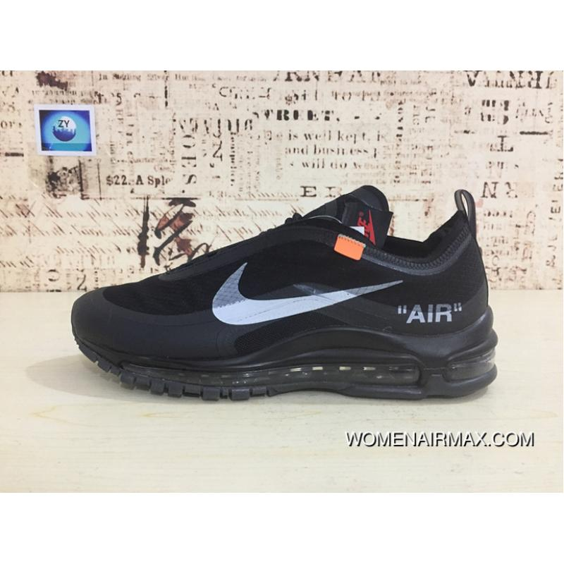 b040aea25 Nike 97 Be Publishing Air Max 97 Retro 97 OFF-WHITE X Zoom Jogging Shoes  Authoritative Real Picture Transparent Market Difference Error Version Virgil  Abloh ...