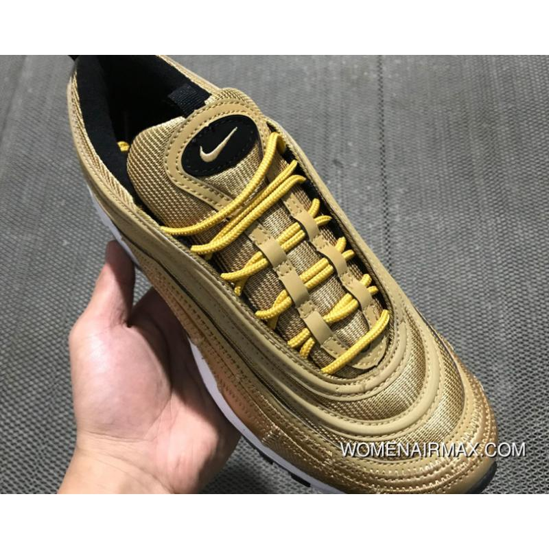 newest f4057 ac1cf Cristiano Ronaldo With Nike Air Max 97 Cr7 Gold Discount