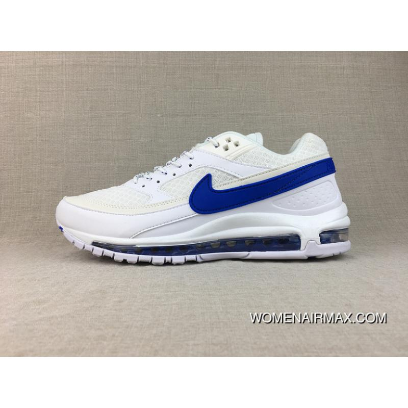 WomenMen Super Deals Nike Air Max 97 BW X Skepta Collaboration What The Running Shoes AO2113 100 Size