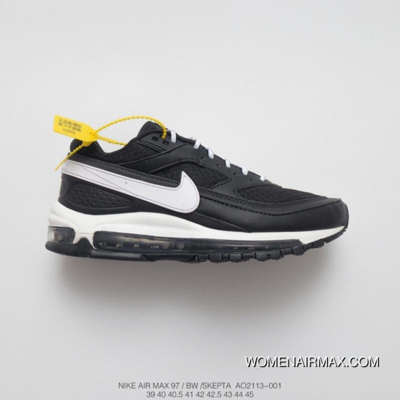 Nike Air Max 97 Black White Womens | 917646 001