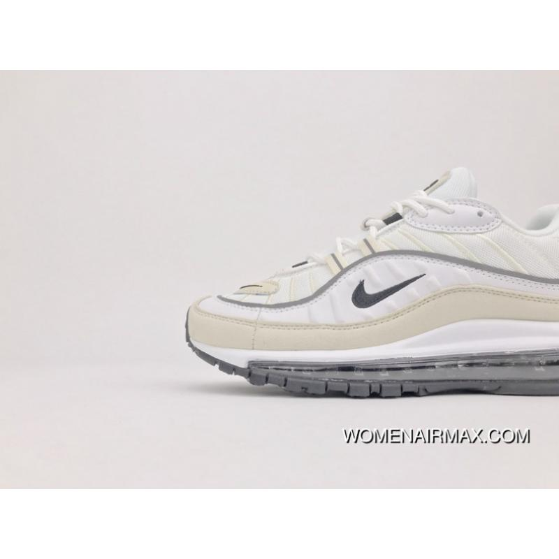 02ee92540b ... Beige White Nike Zoom 98 Air Max 98 Cream White AH6799-102 Top Deals ...