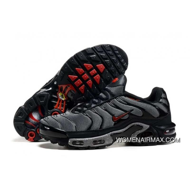 hot sale online 261af fbfa9 2016 Mens Nike Air Max Tn Black/Red Shoes New Style