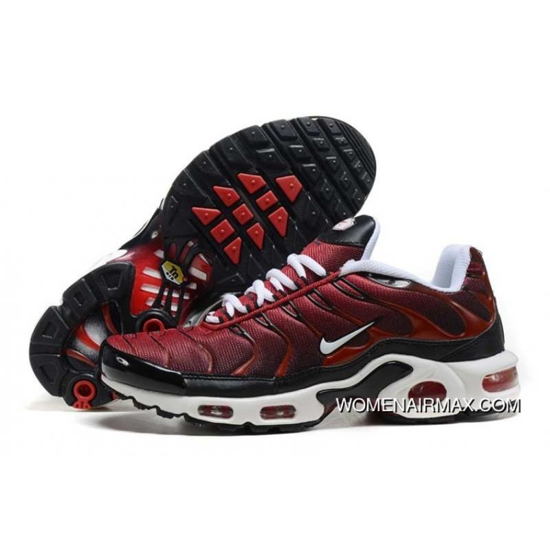 newest ea4b9 c7d66 2016 Mens Nike Air Max Tn Red/White/Black Shoes Outlet
