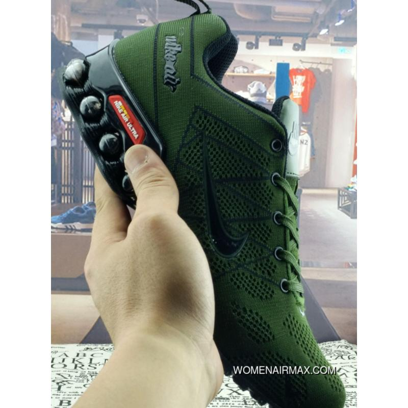 the best attitude a91c6 bb328 Nike Air Ultra Max 2018.5 NIKE TN Green Men Free Shipping