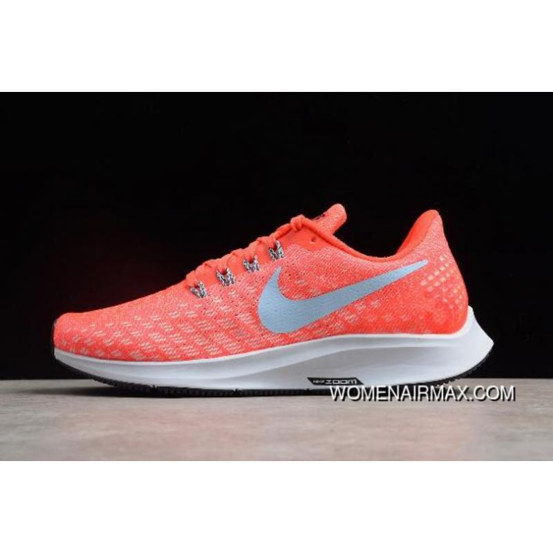 low priced 9d301 20dac Wmns Nike Air Zoom Pegasus 35 Bright Crimson/Ice Blue-Sail 942855-600  Running Shoes Discount