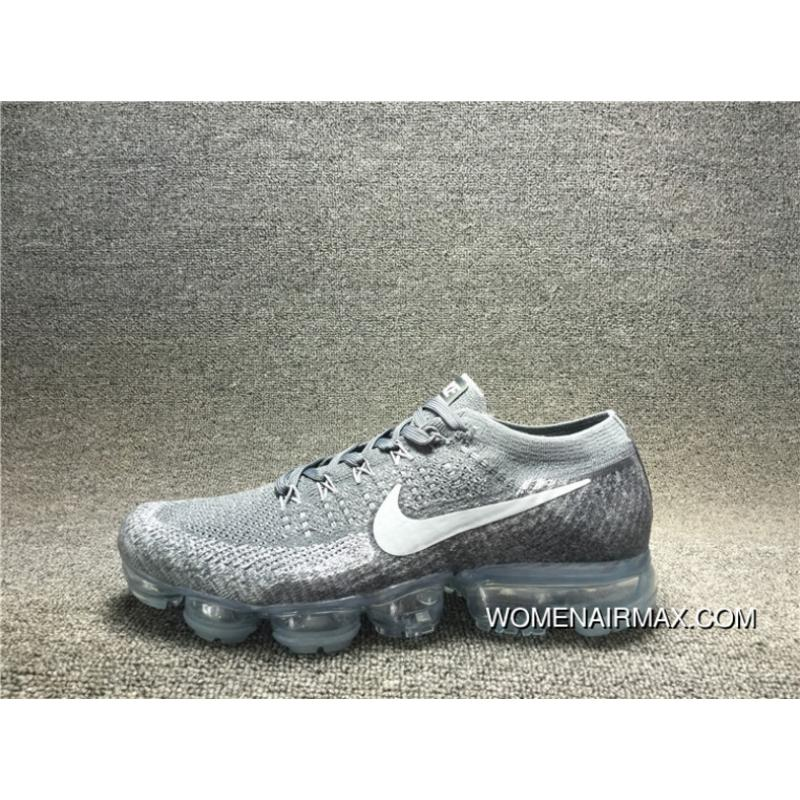 pretty nice 76b7e c07f1 2017 New High Quality NIKE AIR VAPORMAX FLYKNIT Woven FLYKNIT Mesh  Breathable Running Shoes 849558-002 Men Shoes Latest