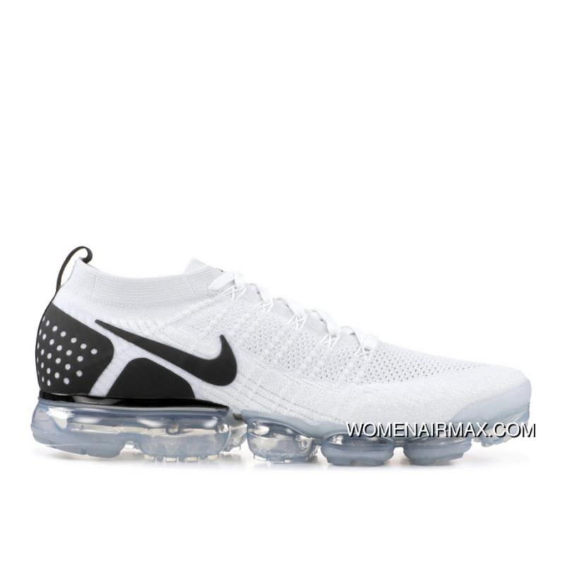 newest db0b6 88ac2 NIKE AIR VAPORMAX FLYKNIT 2 REVERSE ORCA SKU 942842 103 White Black Split  For Sale