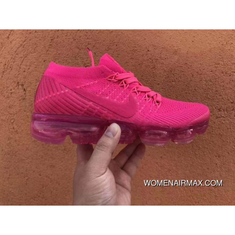 finest selection a56fb 1acce Nike WMNS AIR VAPORMAX FLYKNIT The HYPER PUNCH SKU 849557 604 Red Roses  Outlet