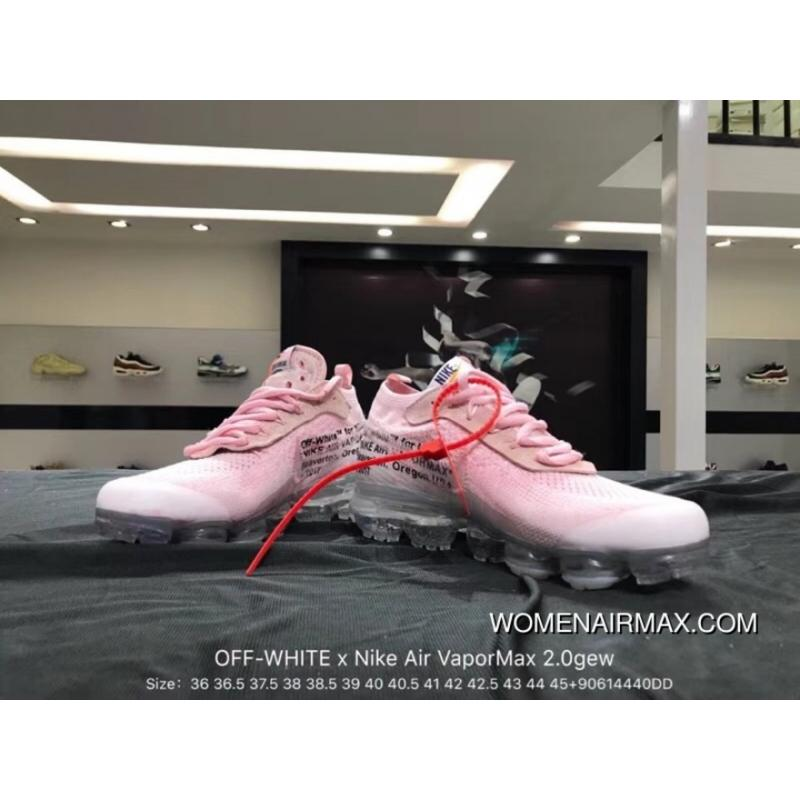 8f3896d3cd68 ... Nike Virgil Abloh Designer Paired OFF In The Second Quarter-WHITE Air  VaporMax Gew 2.0 ...