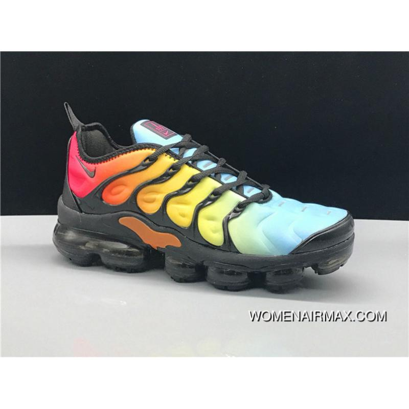 watch 0d6ae 763ca Nike Air Vapormax Plus 2018 TN Rainbow Online