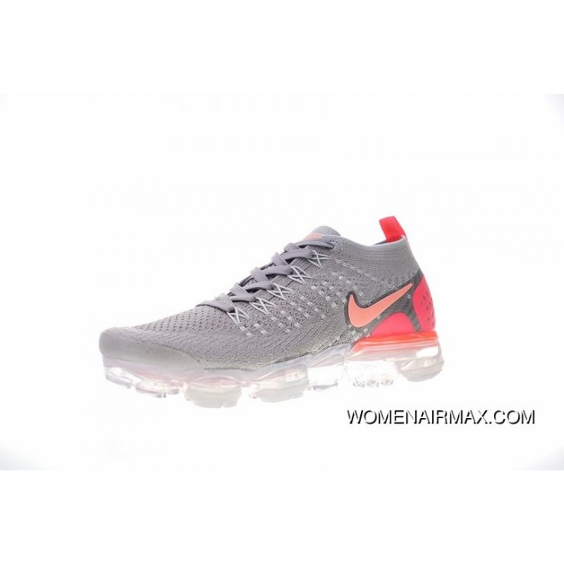 new style 6fb3a dd664 Women Shoes Nike Air VaporMax Flyknit 2.0 W 2.0 Zoom Air All-match Jogging  Shoes2.0 Light Grey Pink Peach Red Meat 942843-005 Latest