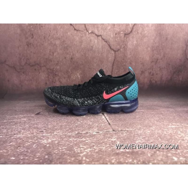 4fc0c8f59b 2018 2.0 Zoom Air Nike Air VaporMax Flyknit Black White Red Cactus ...