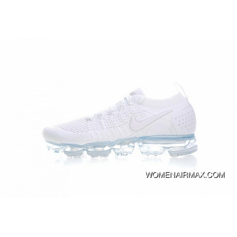 new arrival 4c184 a2adb Correct Colorways Version Nike Air VaporMax Flyknit 2.0 W 2.0 Zoom Air  All-match Jogging Shoes2.0 White Ice Blue 942842-100 Online