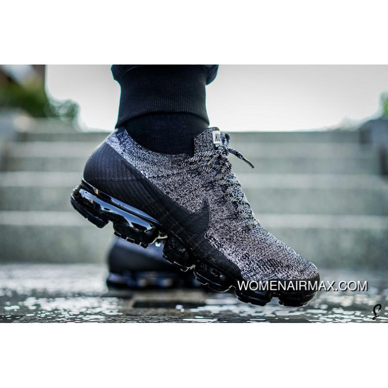 new style search for official popular brand Nike Air Vapormax Oreo 2.0 Black/Black-White-Racer Blue Top Deals
