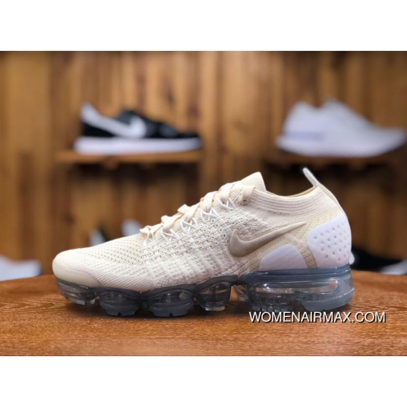 110036bf10c1c ... cheapest 2018 zoom running shoes nike air vapormax 2.0 beige white women  zoom air running shoes