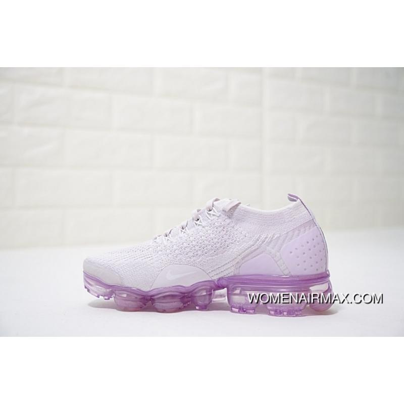 best loved 17dc2 081d6 Women Shoes Nike Air VaporMax Flyknit 2.0 White Light Purple 942843-501 Best