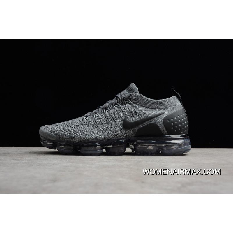 quality design 1454e f359a USD  87.58  289.01. 2018 Zoom Air 2.0 Running Shoes Nike Zoom Air 2.0 Air  VaporMax Flyknit Grey Black ...