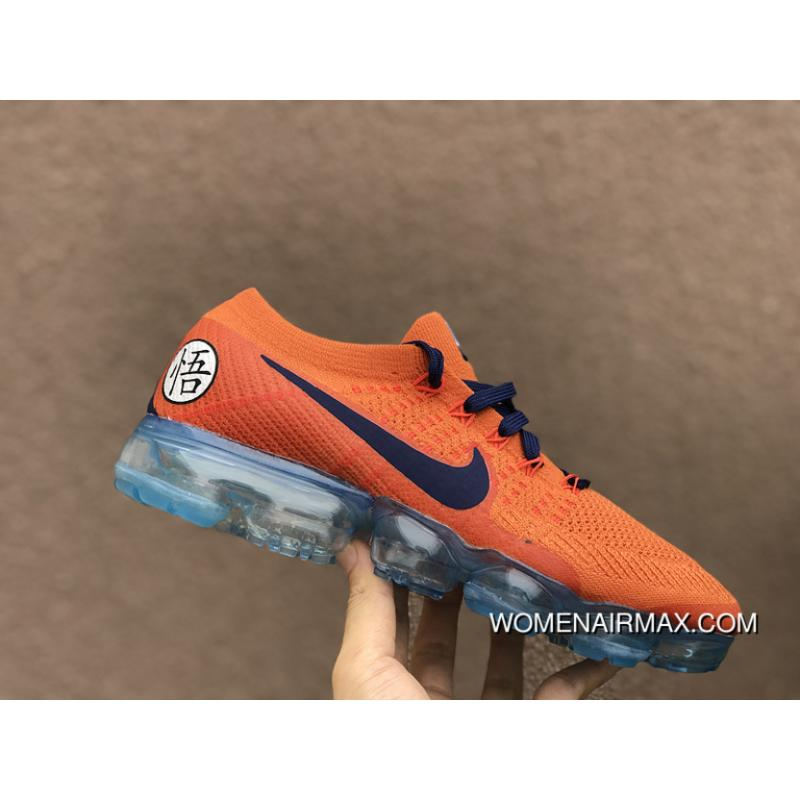 separation shoes 0daa4 510fd Nike Lab Air Vapormax Flyknit Dragonball ID Customized AA3858-102 Limited  Edition Small Size For Sale