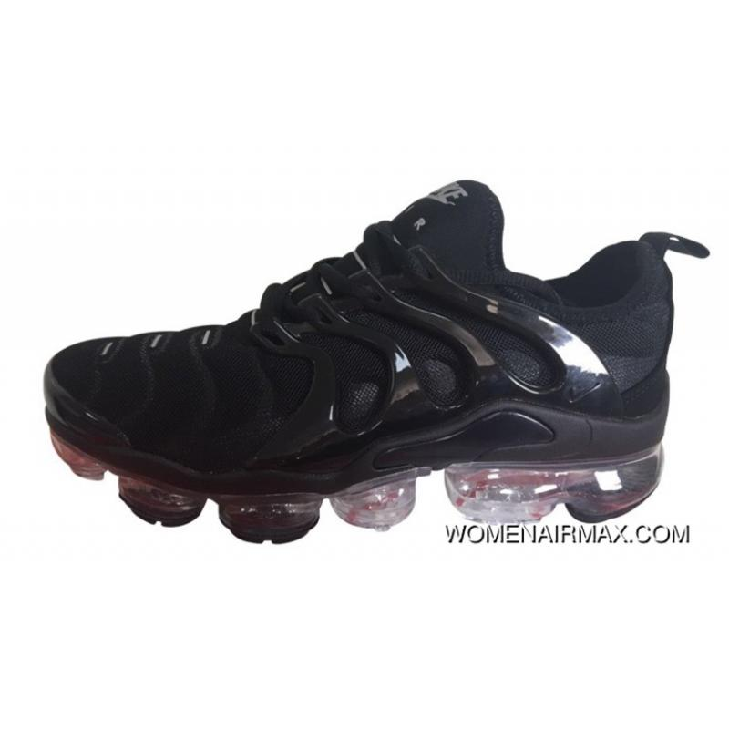 watch a2f13 d38b5 Mens Nike Air Vapormax Plus Shoes All Black Best