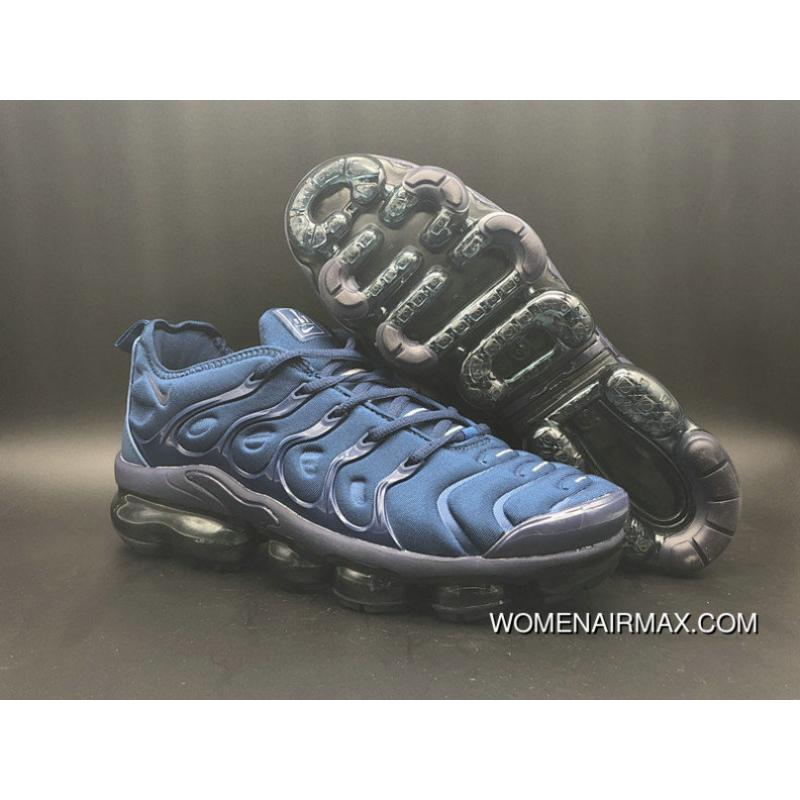 hot sale online f5e90 6efd0 2018 Nike Lab Air Vapor Max X Nike Vapormax Plus Navy Blue Black New Release