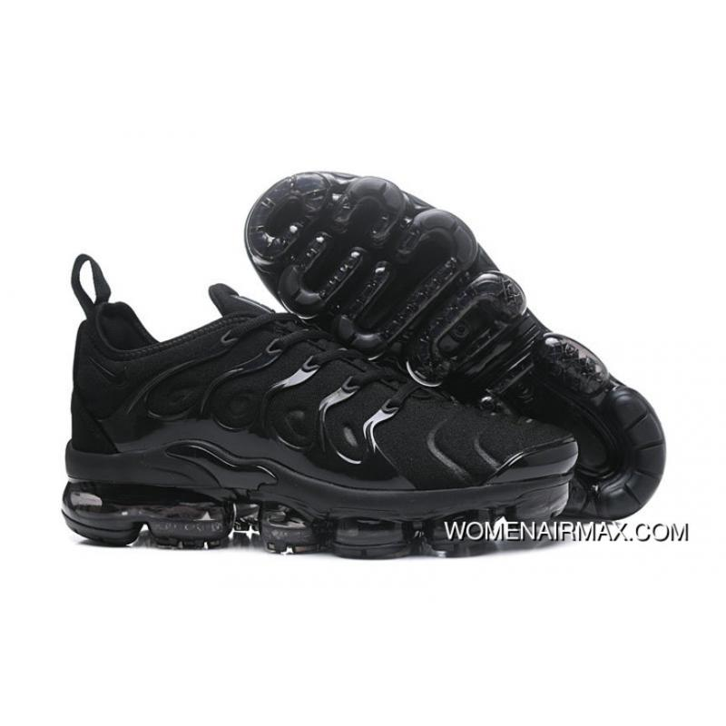buy online 6b09d e3bc9 2018 Nike Lab Air Vapor Max X Nike Air Vapormax Plus Black-Black-Dark Grey  Copuon