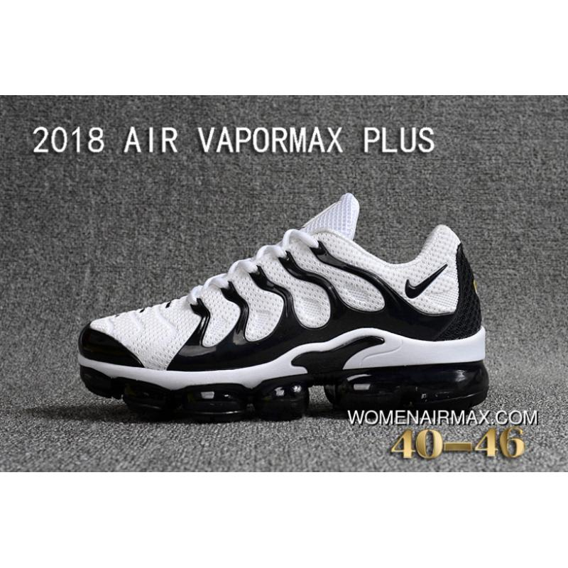 b32abfd2d06 USD  88.58  239.18. Nike 2018 PLASTIC AIR VAPORMAX PLUS TN PLASTIC VAPORMAX  PLASTIC Men Shoes White Black Discount ...